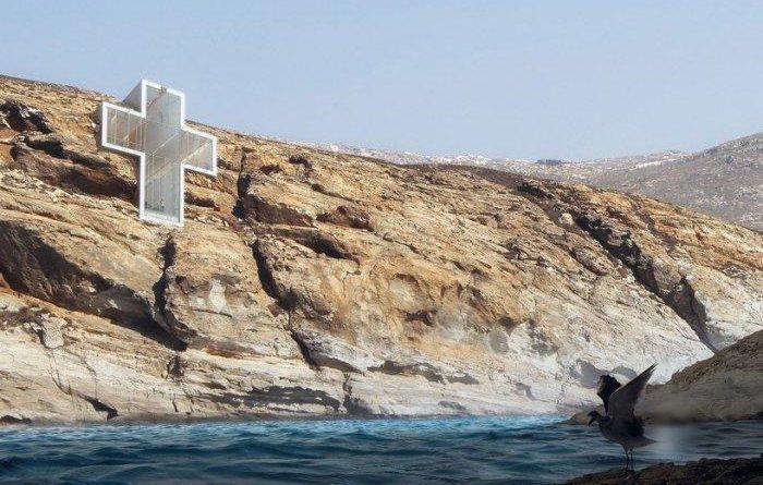 Часовня-крест в Греции
